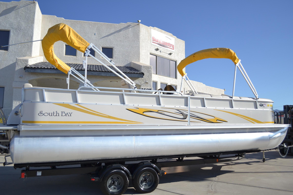 Used South Bay 725CR TT IO Pontoon Boat For Sale