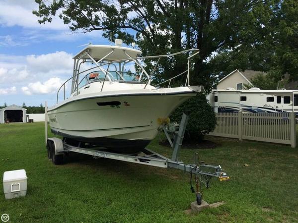 Used Trophy 2002WA Walkaround Fishing Boat For Sale
