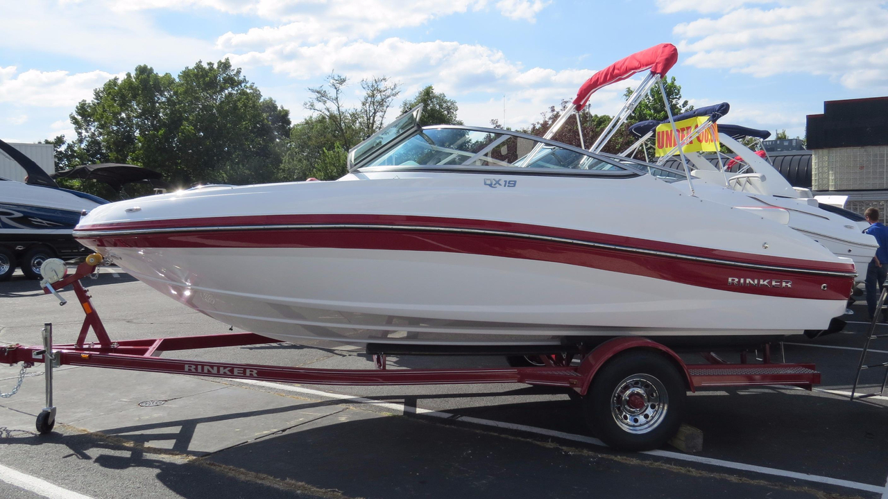 2017 new rinker bowrider boat for sale osage beach mo for Bowrider boats with outboard motors