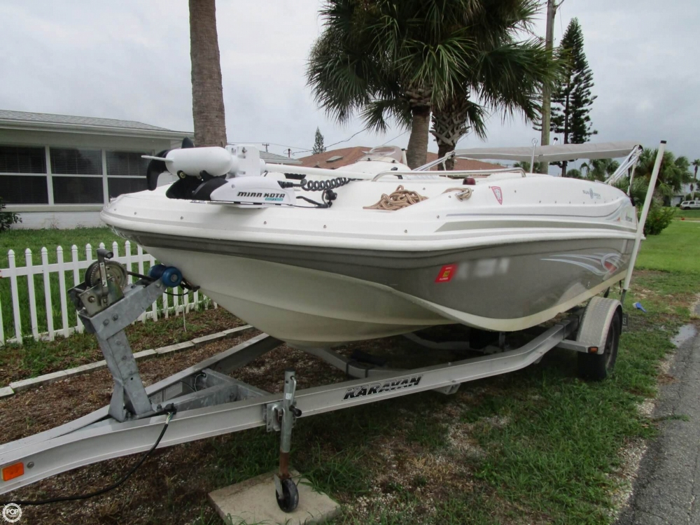 2012 used hurricane 188 sun deck sport deck boat for sale for Patio decks for sale