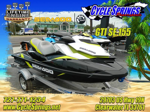 New Sea-Doo GTI SE 155 Personal Watercraft For Sale