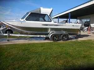 New Northwest Boats 228 Lightning OB Aluminum Fishing Boat For Sale