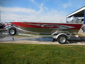 New Hewescraft 180 Open Fisherman Aluminum Fishing Boat For Sale