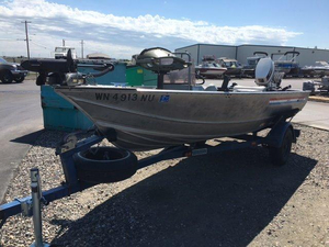 Used Gregor MX-510 Aluminum Fishing Boat For Sale
