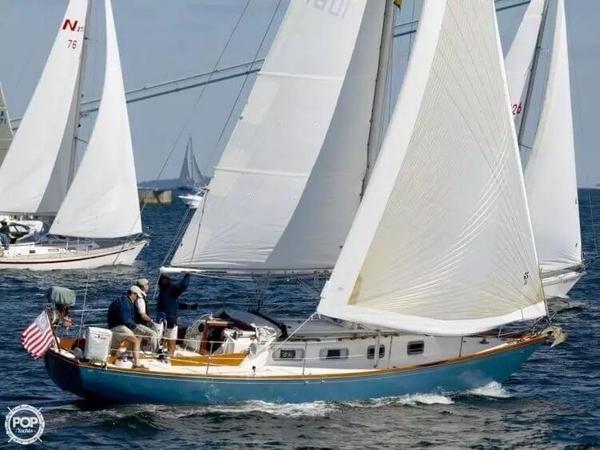 Used Tartan 34 Classic Sloop Sailboat For Sale