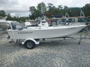 Used Triumph 170 CC Saltwater Fishing Boat For Sale