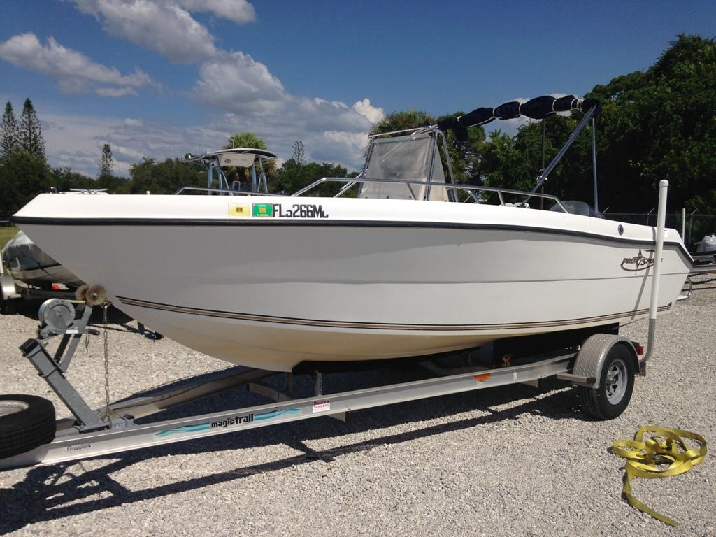 2002 used pro sports 1980 cc center console fishing boat for Used sport fishing boats for sale