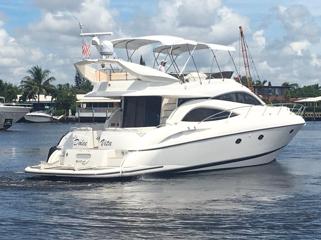 2003 used sunseeker manhattan 56 motor yacht for sale for Used motor yachts for sale in florida