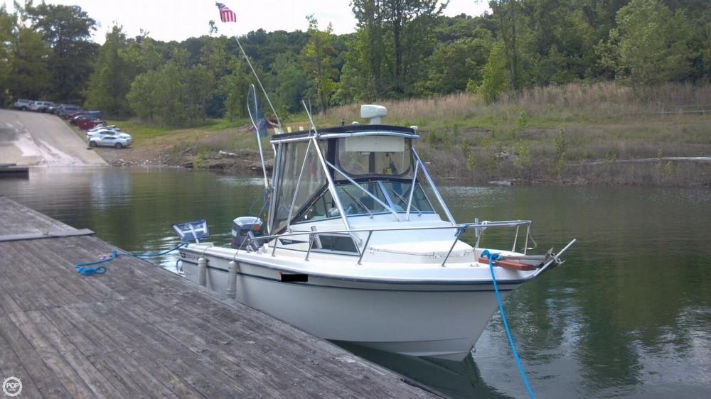 1984 used grady white 204 overnighter walkaround fishing for Grady white fishing boats