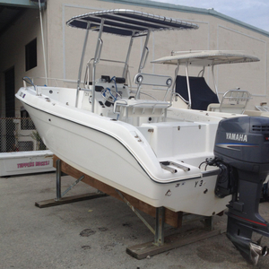 Used Cobia 214 Center Console Saltwater Fishing Boat For Sale
