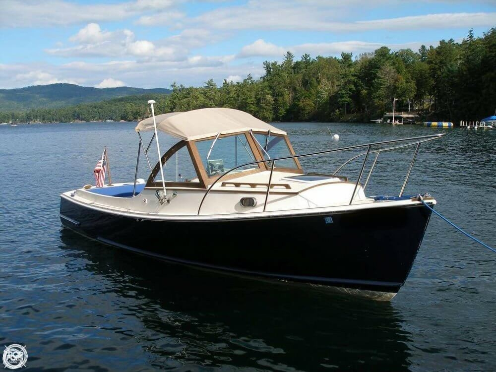1999 used hood wasque 26 downeast fishing boat for sale for Fishing boats for sale