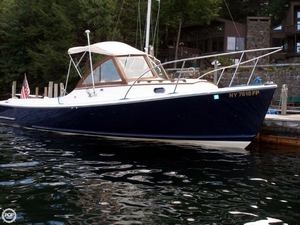 Used Hood Wasque 26 Downeast Fishing Boat For Sale