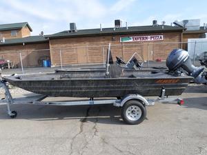 New Alweld 1756VV Marsh Jon Boat For Sale