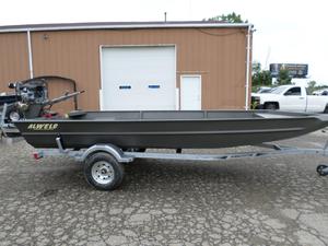 New Alweld 1860FV Mud Jon Boat For Sale