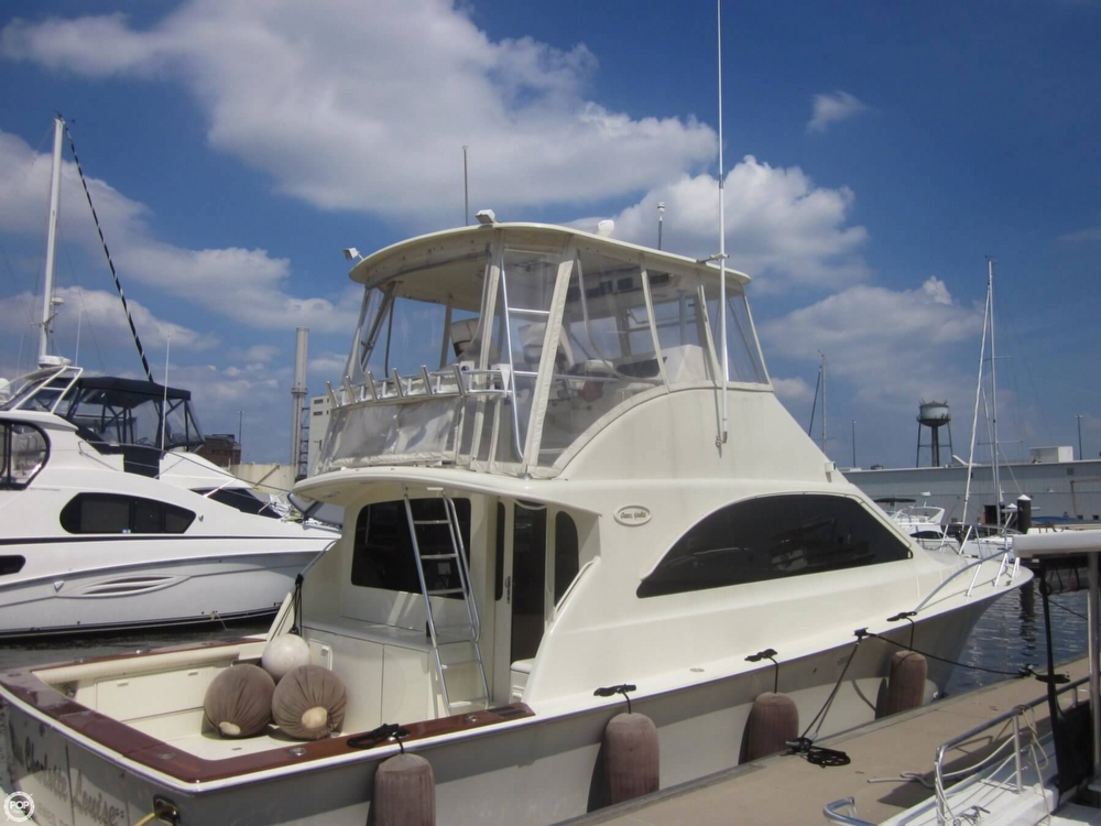 2002 used ocean yachts 48 sports fishing boat for sale for Used fishing boats for sale in md