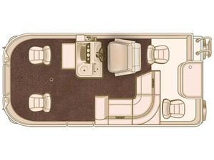 New Starcraft Marine EX 21 F4 Pontoon Boat For Sale