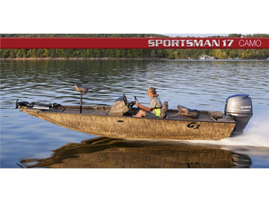 New G3 Boats Sportsman 17 Camo BU Freshwater Fishing Boat For Sale