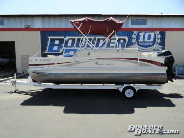 Used Bennington 2075FSi Pontoon Boat For Sale