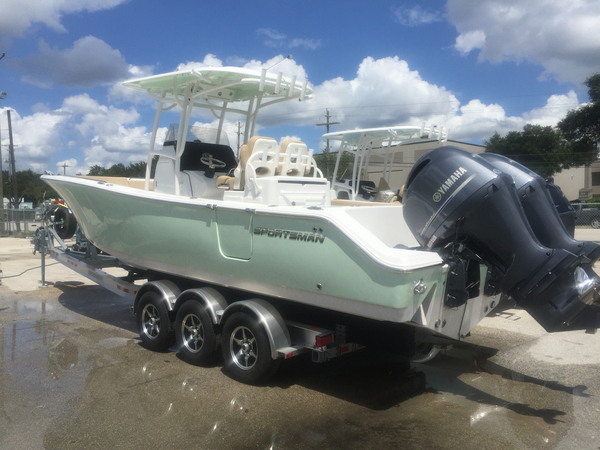 New Sportsman Boats Sportsman 282 Open Center Console Fishing Boat For Sale