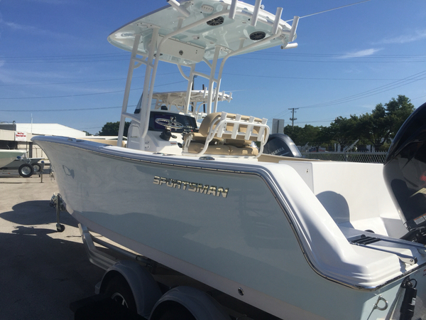 New Sportsman Boats Open 232 Center Console - Center Console Fishing Boat For Sale