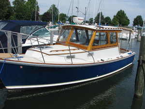 Used Dyer 29 Extended Hard Top Downeast Fishing Boat For Sale