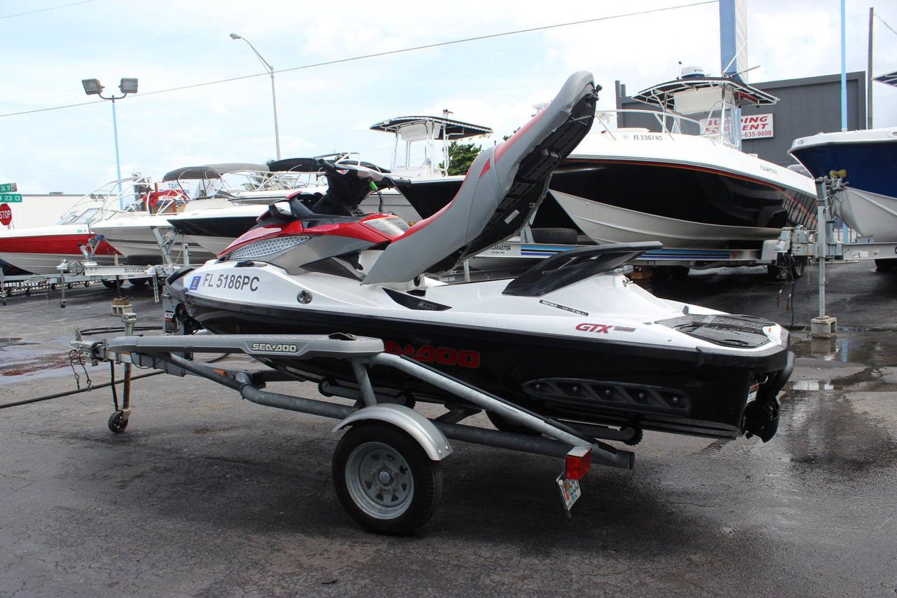 2010 used sea doo gtx 155 personal watercraft for sale. Black Bedroom Furniture Sets. Home Design Ideas