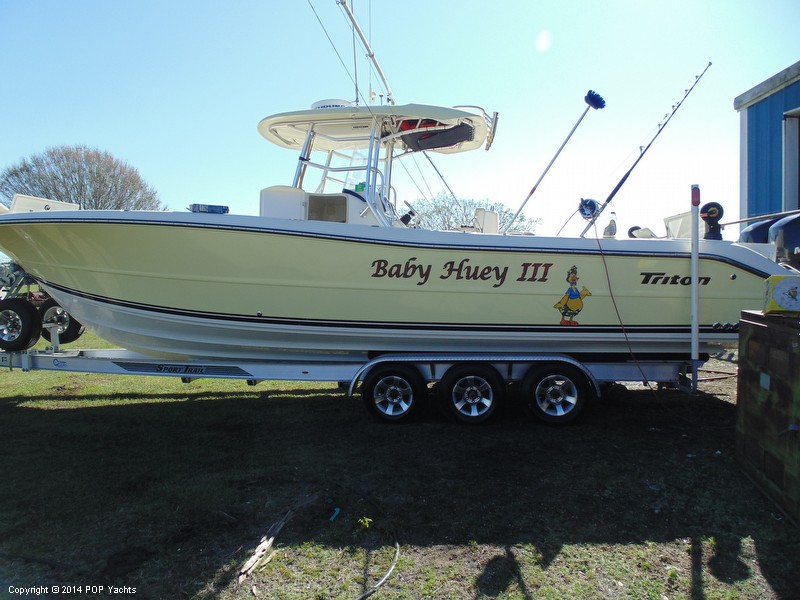2005 used triton 351 center console center console fishing for Used fishing boats for sale in florida