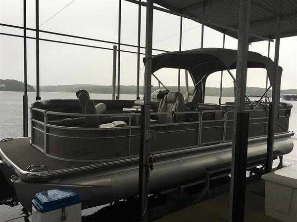 Used Premier 250 Legend Triple Tube Pontoon Boat For Sale