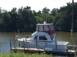 Used Offshore Yachts 36 PT Sports Fishing Boat For Sale