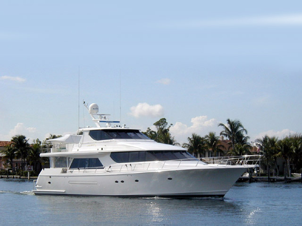 Used West Bay Custom Enclosed Bridge Motor Yacht For Sale