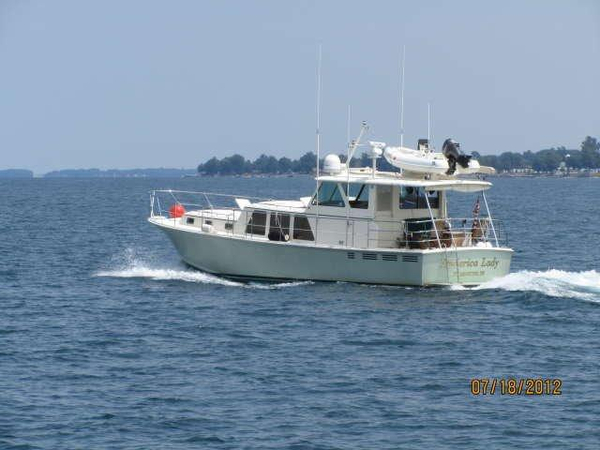 Used Dettling 48 Pilothouse Boat For Sale