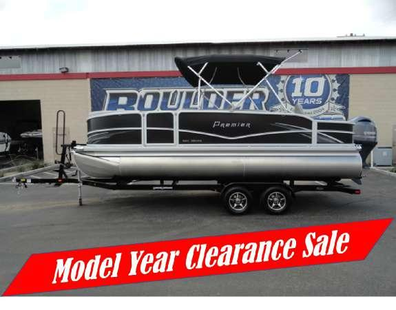 New Premier Boats Gemini 220 RE Pontoon Boat For Sale