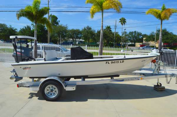 Used Hewes 16 Bay Fisher Bayfisher Flats Fishing Boat For Sale