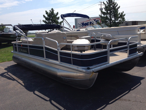 Used Misty Harbor 1880 Explorer CF Pontoon Boat For Sale