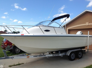 Used Sunbird Neptune Walkaround Fishing Boat For Sale