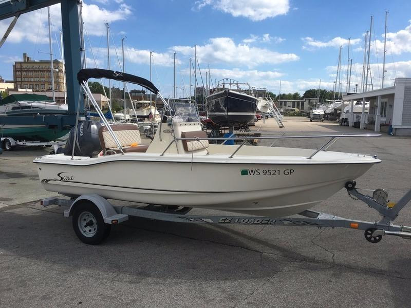 2003 used scout boats 175 sportfish center console fishing for Used fishing boats for sale in wisconsin
