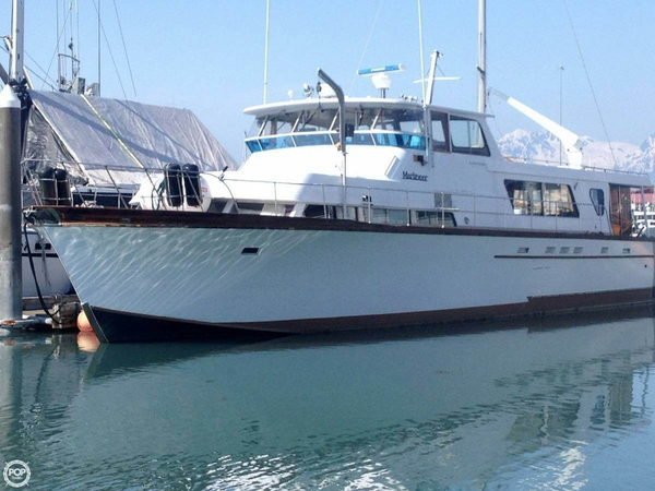 Used Grandy Monk Marlineer 60 Trawler Boat For Sale