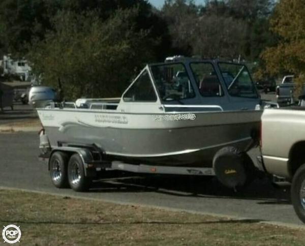 Used Alumaweld 20 Intruder Aluminum Fishing Boat For Sale