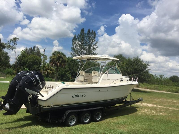 Used Pursuit 2870 Express Cruiser Boat For Sale
