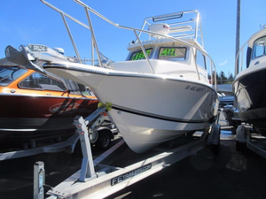 Used Defiance 250 Admiral Walkaround Fishing Boat For Sale