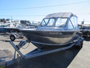 Used Hewescraft 220 Sea Runner Aluminum Fishing Boat For Sale