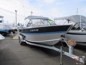 Used Alumaweld 21' Inboard Aluminum Fishing Boat For Sale
