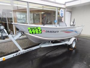 Used Smokercraft 13' Alaskan Aluminum Fishing Boat For Sale