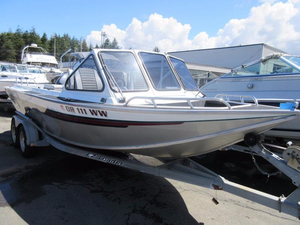 Used North River 21' Commander Aluminum Fishing Boat For Sale