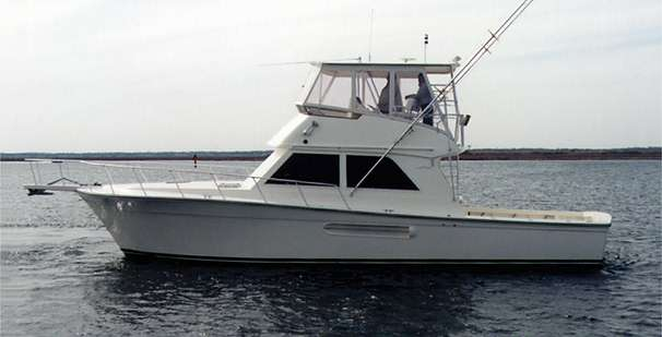 1998 used henriques 44 sportfisherman44 sportfisherman for Point pleasant fishing boats