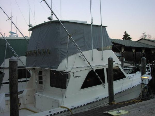 Used Henriques 44 Sportfisherman Saltwater Fishing Boat For Sale