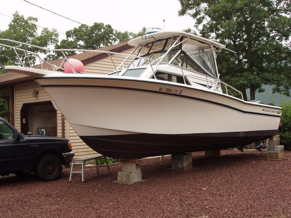 Used Grady-White 25 Sailfish Sports Fishing Boat For Sale