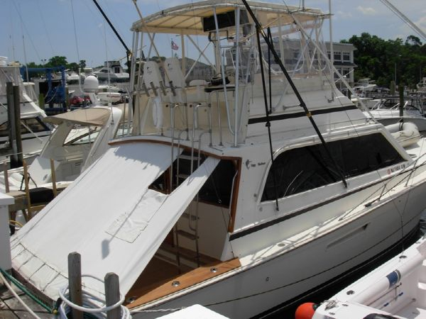 Used Egg Harbor 41 Convertible Fishing Boat For Sale