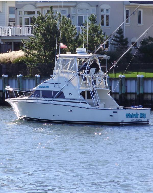 1984 used bertram 33 sportfish sports fishing boat for for Sport fishing boat