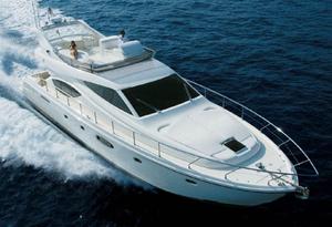 Used Ferretti Yachts 550 Flybridge Boat For Sale